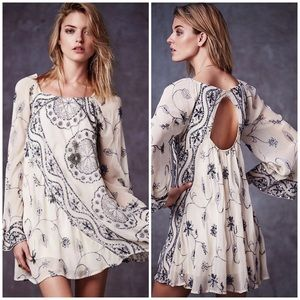 NWT Free People My Beloved Georgette Dress